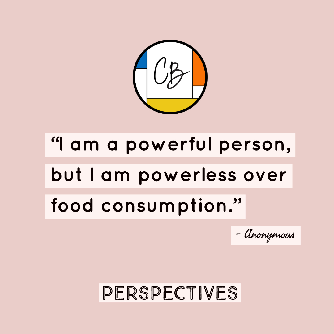 Perspectives: I am an Overeater