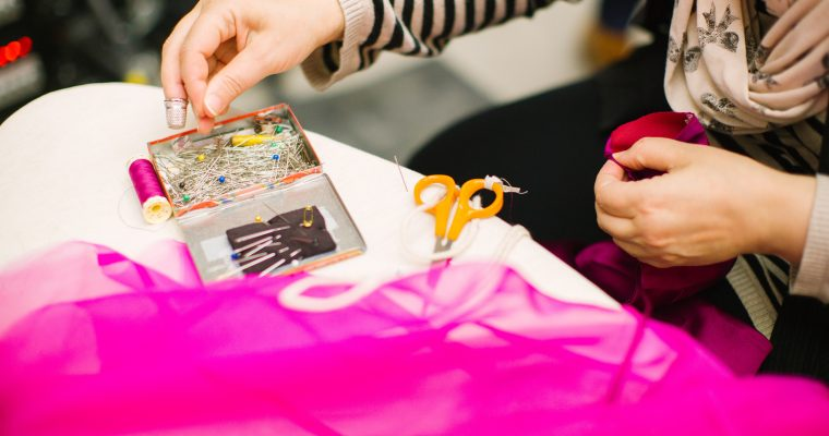 Embroidery Workshop with Tali Tjiang