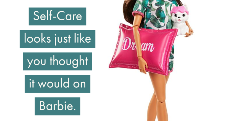 Barbie Teaches Kids About Self-Care